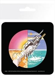 Pink Floyd Wish You Were Here (Single cork based drinks coaster)