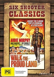 Walk The Proud Land Six Shooter Classics | DVD