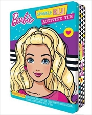 Barbie Sparkle Bright Activity Tin | Paperback Book