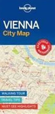Lonely Planet Vienna City Map | Sheet Map