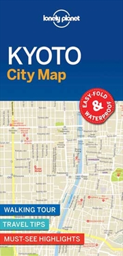 Lonely Planet Kyoto City Map | Sheet Map