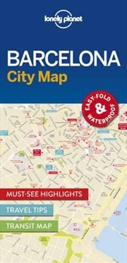 Barcelona City Map: Edition 1 | Sheet Map