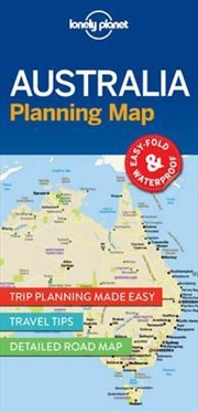 Lonely Planet Australia Planning Map | Sheet Map