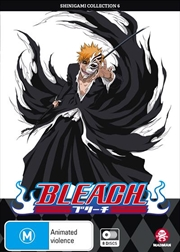 Bleach Shinigami - Collection 6 - Eps 217-267 | DVD