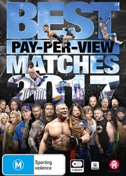 WWE - Best Pay-Per-View Matches Of 2017 | DVD