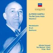 Bel Canto Violin - Volume 2 | CD
