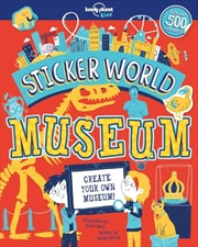Sticker World - Museum | Paperback Book