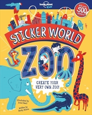 Sticker World - Zoo | Paperback Book