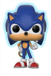 Sonic With Ring Glow