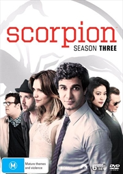 Scorpion - Season 3 | DVD