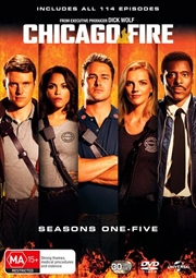 Chicago Fire - Season 1-5 Boxset