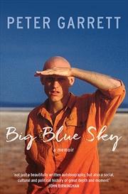 Big Blue Sky | Paperback Book