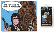 Star Wars Han and Chewie - Its Not Wise Microfibre Cloth