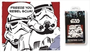 Star Wars Stormtrooper Rebel Scum Quote Microfibre Cloth | Accessories