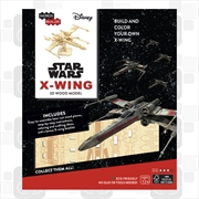 Incredibuilds Star Wars X Wing 3D Wood Model | Merchandise