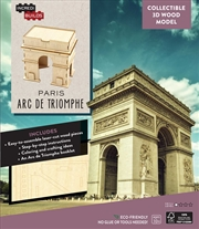 Incredibuilds Paris Arc De Triomphe 3D Wood Model | Merchandise