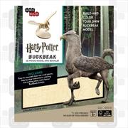 Incredibuilds Harry Potter Buckbeak 3D Wood Model and Booklet | Merchandise