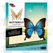 Incredibuilds Butterfly 3D Wood Model | Merchandise