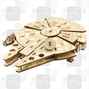 Incredibuilds Star Wars Millennium Falcon 3D Wood Model | Merchandise