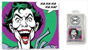 The Joker Quote Microfibre Cloth - Haha