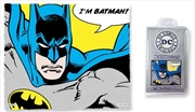 Batman Quote Microfibre Cloth - I'm Batman