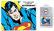 Superman Quote - Job For Superman Microfibre Cloth