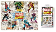 Marvel Comics - Retro Rays Microfibre Cloth | Accessories