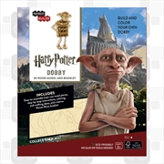 Incredibuilds Harry Potter Dobby 3D Wood Model and Booklet | Merchandise