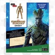 Incredibuilds Marvel Guardians of the Galaxy Groot 3D Wood Model | Merchandise