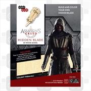 Incredibuilds Assassins Creed Hidden Blade 3D Wood Model | Merchandise