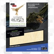 Incredibuilds Fantastic Beasts and Where to Find Them Swooping Evil 3D Wood Model and Booklet | Merchandise
