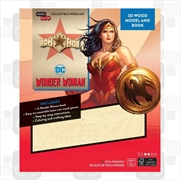 Incredibuilds Wonder Woman 3D Wood Model and Book | Merchandise