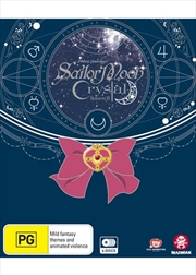 Sailor Moon - Crystal - Set 3 - Eps 27-39 - Limited Edition | Blu-ray + DVD
