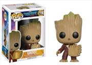 Guardians of the Galaxy: Vol. 2 - Groot Ravager with Patch US Exclusive
