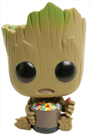 Guardians of the Galaxy: Vol. 2 - Groot with Candy Bowl US Exclusive | Pop Vinyl