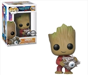 Guardians of the Galaxy: Vol. 2 - Groot with Cyber Eye US Exclusive