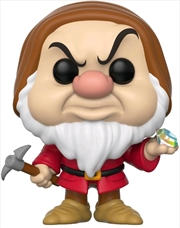 Snow White and the Seven Dwarfs - Grumpy with Diamond & Pick US Exclusive | Pop Vinyl