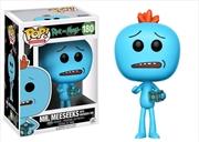 Rick and Morty - Mr. Meeseeks with Meeseeks Box US Exclusive