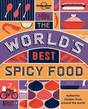 The World's Best Spicy Food   Paperback Book
