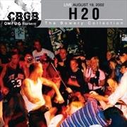 H20 - Live At Gbgb   CD