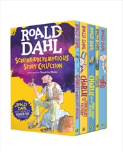 Roald Dahls Scrumdiddlyumptious Story Collection | Paperback Book