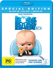Boss Baby - Special Edition | 3D + 2D Blu-ray + Digital Copy, The