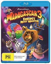 Madagascar 3 - Europe's Most Wanted | Blu-ray