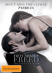Fifty Shades Freed - PERSONALISED COVER (Online Only)
