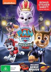 Paw Patrol - Mission Paw | DVD