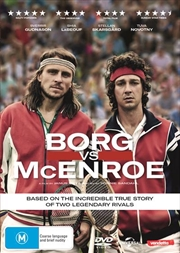 Borg Vs McEnroe | DVD