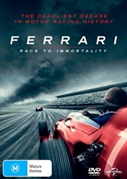 Ferrari - Race To Immortality | DVD