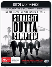 Straight Outta Compton | Blu-ray + UHD + UV