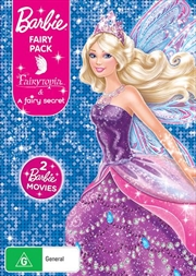 Barbie Fairy Pack - Barbie Fairytopia / Barbie A Fairy Secret | 2 On 1 | DVD
