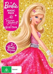 Barbie Magic Pack - Barbie A Fashion Fairytale / Barbie And The Secret Door | 2 On 1 | DVD
